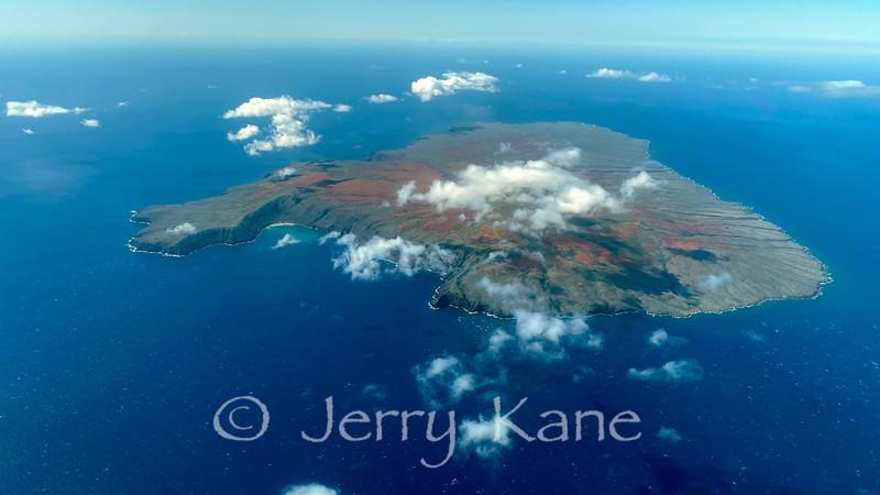 North shore of Kaoolawe, Hawaii
