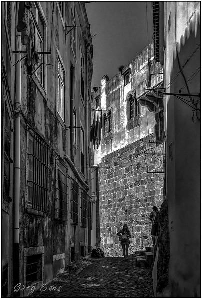 Old Quarter, Lisbon, Portugal