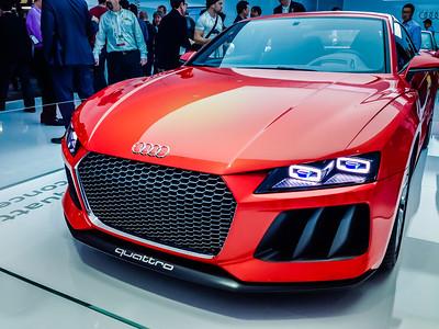 Audi Quattro 2014 CES