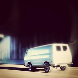 Ford Van I-84 Eastbound