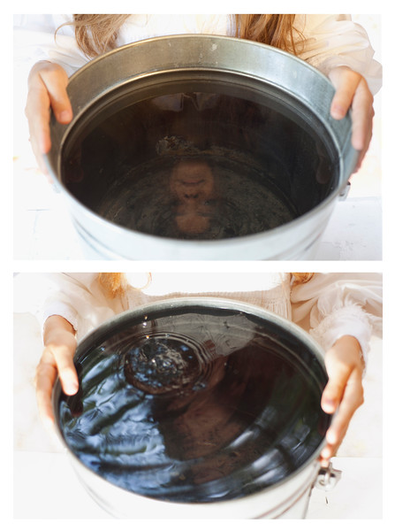 a bucket full of tears ( diptych view), 2014<br /> archival pigment print <br /> 20 x 30 (50 x 76 cm) each