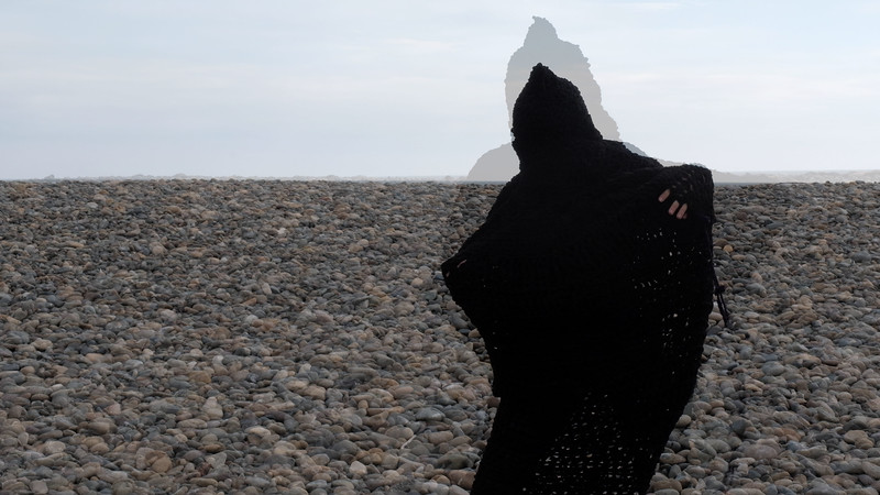 Disappearance II (Cocoon), 2020<br /> Archival Pigment Print<br /> 20 x 35 inches <br /> Still from video