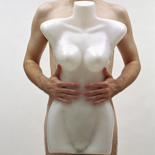 masculinefeminine V, 2002 archival pigment print 44 x 44 inches (110 x 110 cm)