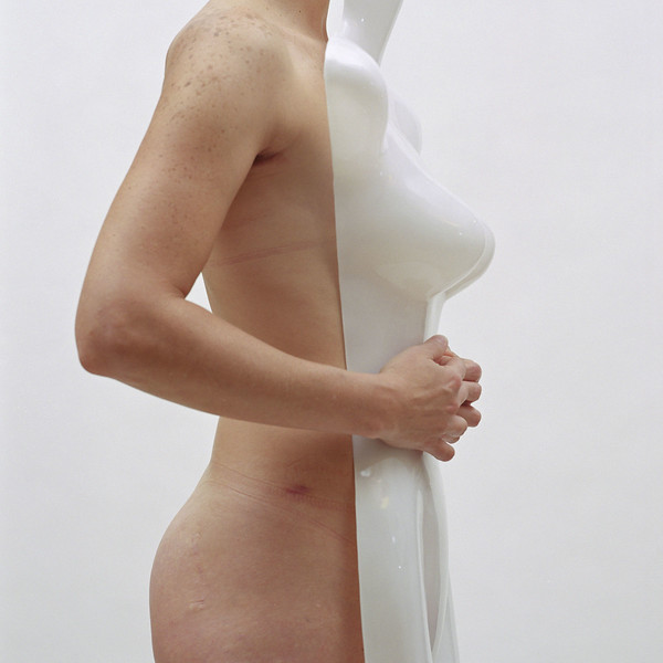 masculinefeminine II, 2002 archival pigment print 44 x 44 inches (110 x 110 cm)