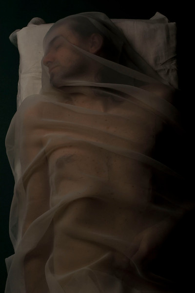 Tableaux, after Cristo di San Severo, Giuseppe Sammartino, 2007<br /> archival pigment print <br /> 28 x 40 inches (70 x 100 cm)