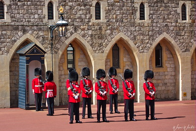 Windsor Castle:  Guarding the Queen