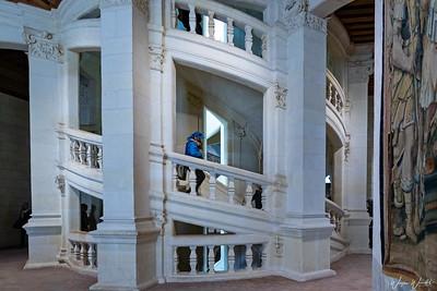 DaVinci's Spiral Staircase