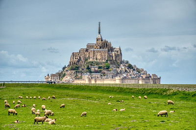 Mont Saint Michel in Normnandy