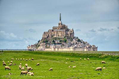 Mont Saint Michel in Normnandy