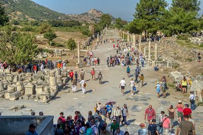 Ephesus' Harbor Street