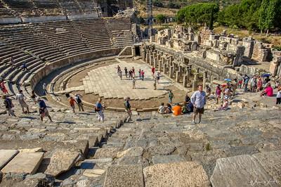The Roman Theater in Ephesus