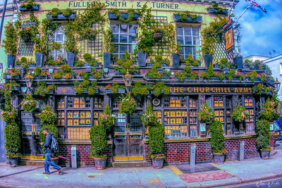 Churchill Arms Pub