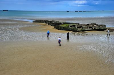 Normandy:  Omaha Beach Today