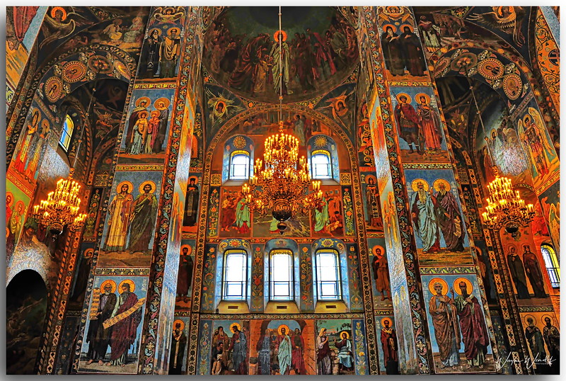 Church on the Spilled Blood, St. Petersburg, Russia
