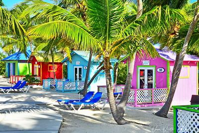Pastel Beach Houses
