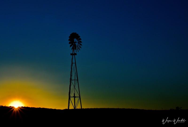 Seminole Canyon Sunset