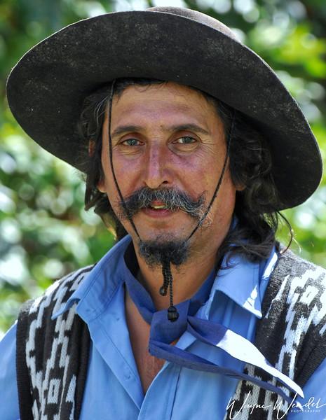 Gaucho of the Estancia La Fortuna of Argentina