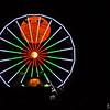 Super Moon in the Ferris Wheel