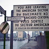 Walking Through Check Point Charlie, West Berlin March 1969