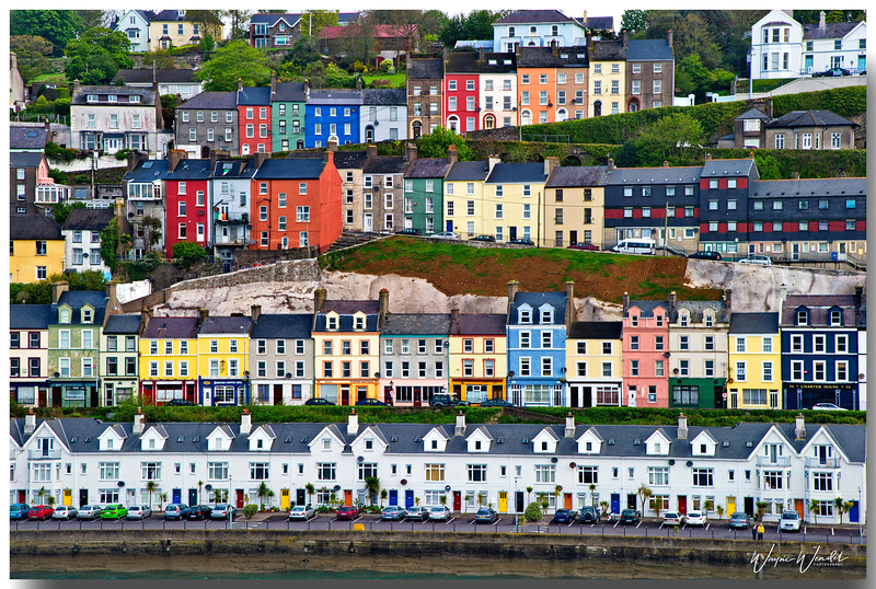 Colorful Homes, Cobh, Ireland