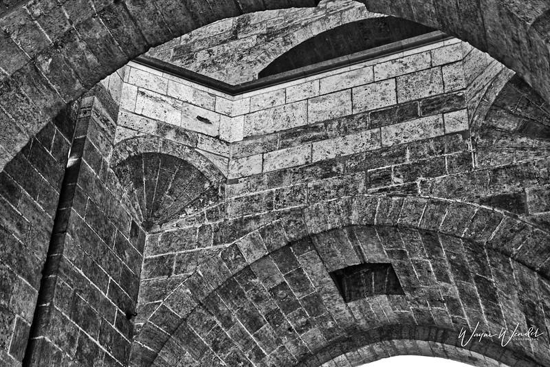 Old City Gate in Valencia, Spain