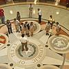 Texas Capitol's Mosaic Floor