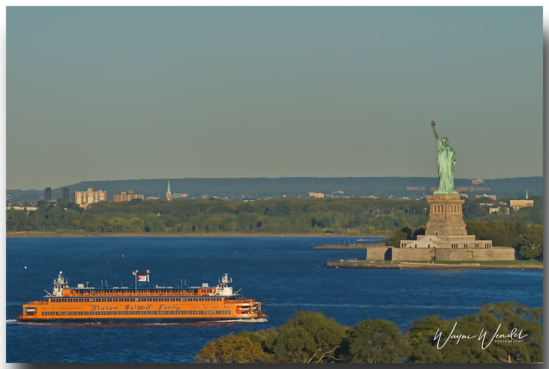 Staten Island Ferry & Statue of Liberty
