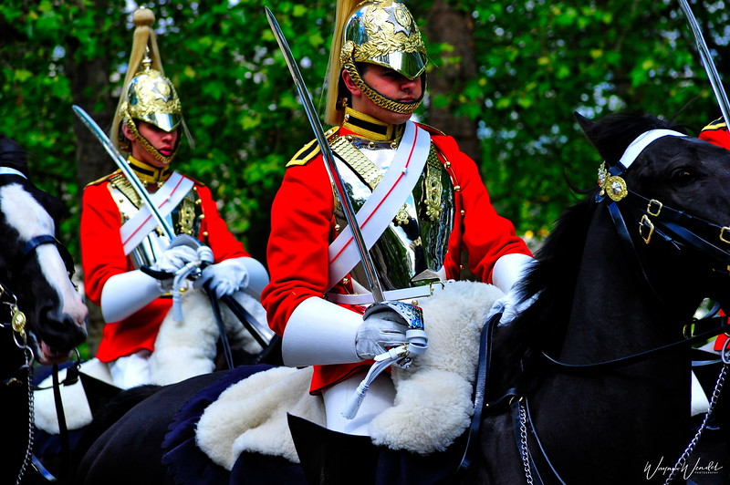 """Queen's Household Cavalry ..........""""Q"""" is for Queen's Cavalry"""
