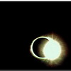Solar Eclipse:  Diamond Ring Effect