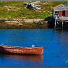 """The Little Boat That Could"" in Peggy's Cove"
