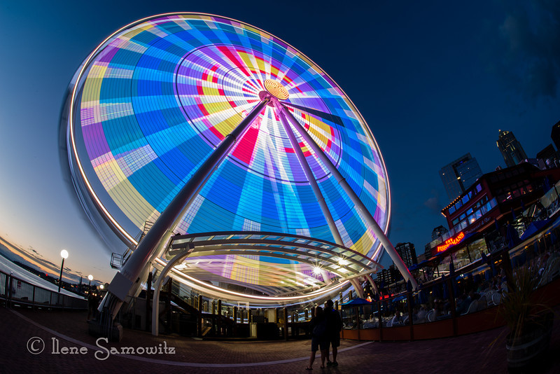 """9-28-13. L is for """"Looking at the Lights of the Wheel"""""""