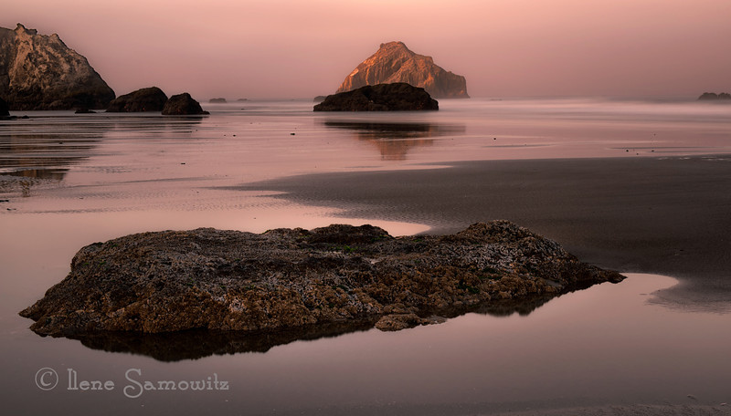 1-13-13 Bandon Long Exposure Twilight - this is a 30 sec exposure.<br /> <br /> Critiques Welcome.