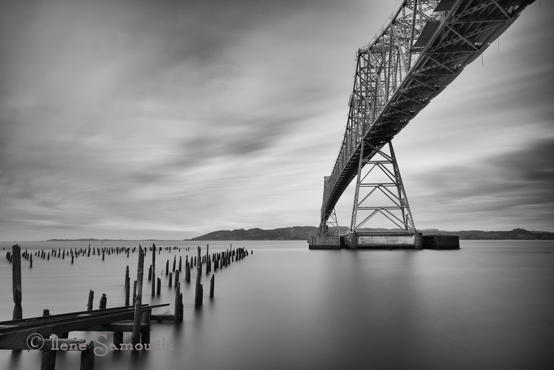 3-25-13 This is a 274 sec (4.5 min) exposure.  This is the Astoria Bridge.