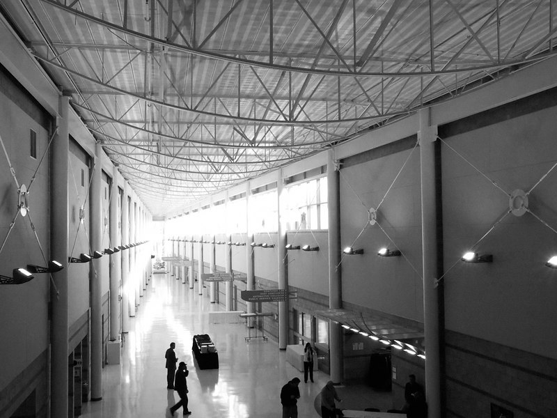 January 8, 2007<br /> <br /> Interior of the MTECH building at the Lansing Community College West Campus.