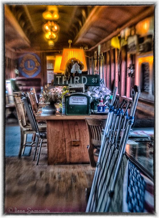 Garibaldi Steam Locomotive Dining Car