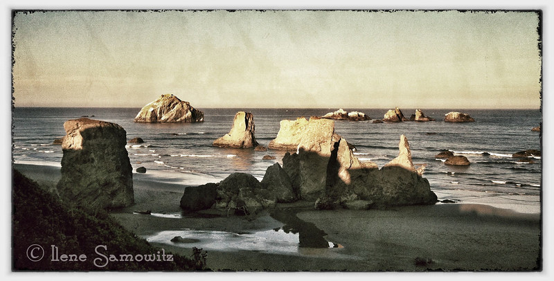 9-23-12 From Sunset Motel in Bandon.  This was taken from my iPhone and processed on my iPad using Snapseed.<br /> <br /> Critiques Welcome.
