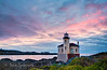 10-7-12 Coquille Lighthouse Sunset - Here is another in this series.  I really enjoyed shooting this lighthouse during my photo workshop in Bandon.  I was there for 6 days and will continue posting images from my time there. <br /> <br /> Constructive Criticism Welcome.