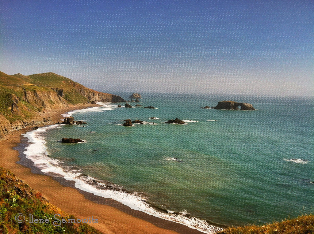 Taken while traveling to the Sonoma Coast, California with my iPhone 4 and pp with camera awesome.