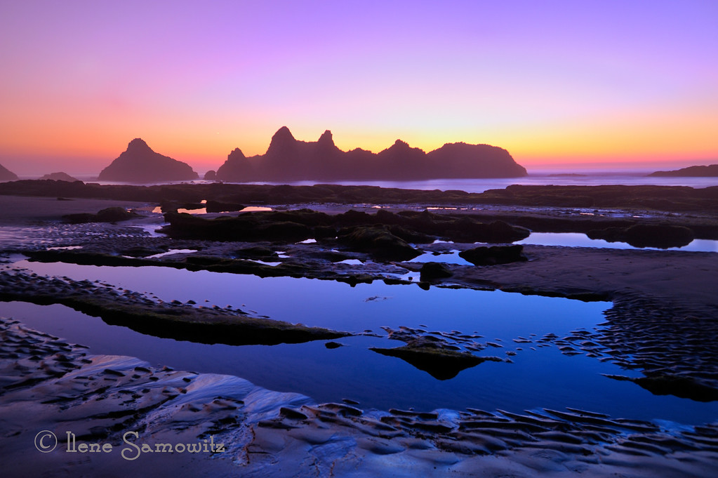 Seal Rock Sunset, Oregon<br /> <br /> Posted on 11-24-12 in PAD<br /> <br /> Critiques Welcome