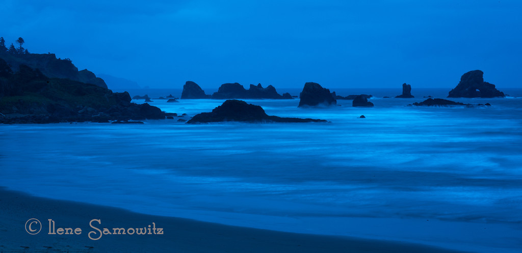 11-21-12 Indian Beach, Oregon - This is a six second exposure with the white balance adjusted to be 4000K.  <br /> <br /> Critiques Welcome.