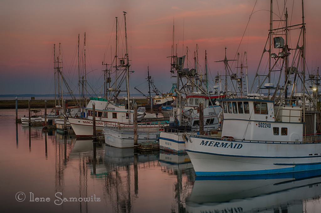 11-7-12 Westport Marina at Sunset.  This is a 5 image HDR processed with Nik HDR Effex Pro 2.  It was an absolutely beautiful and peaceful twilight.<br /> <br /> Critiques are welcome.