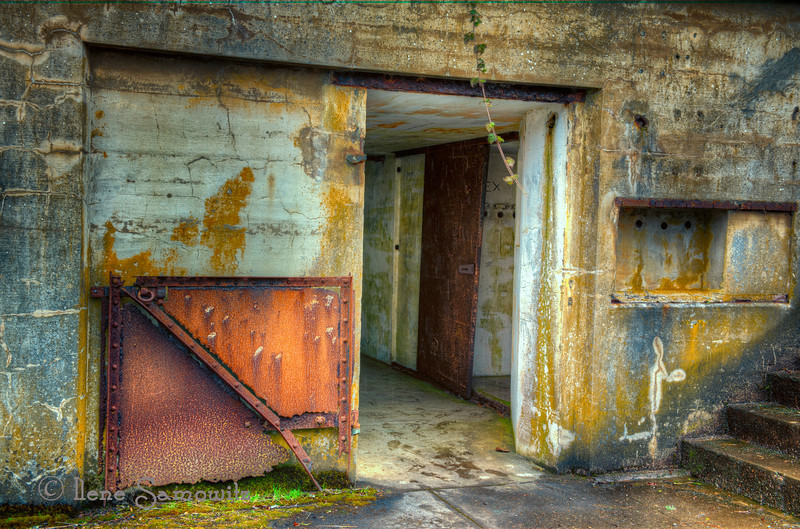 Bunker at Cape Disappointment State Park<br /> Ilwaco, Washington