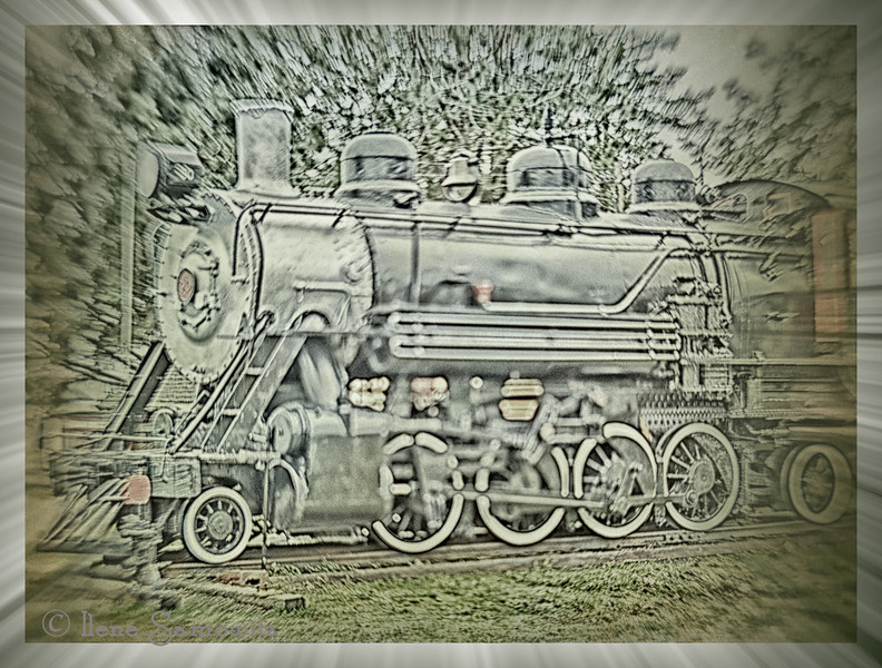 Garibaldi Historical Steam Locomotive