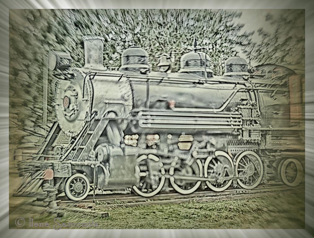 Garibaldi Historical Steam Locomotive