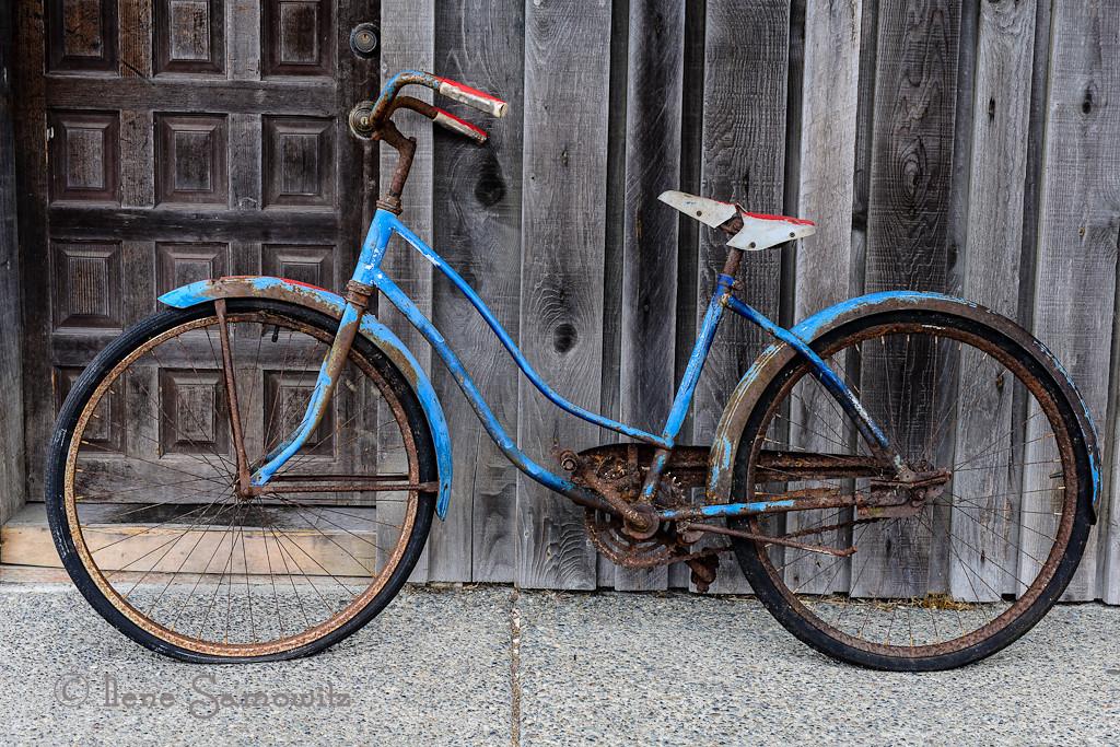 9-21-12 Bike in Downtown Bandon