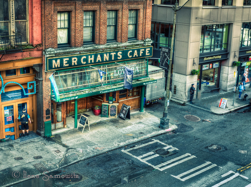 Merchants Cafe - Seattle's Oldest Restaurant<br /> Pioneer Square, Seattle, WA