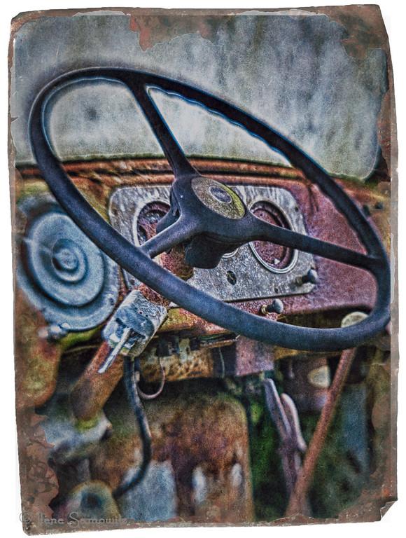 Antique Rusted Dash