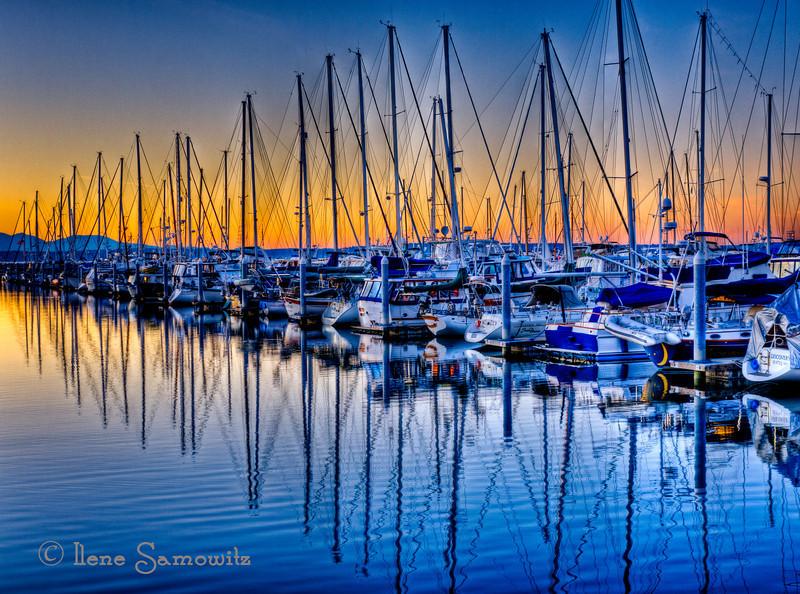 Shilshole Marina Sunset
