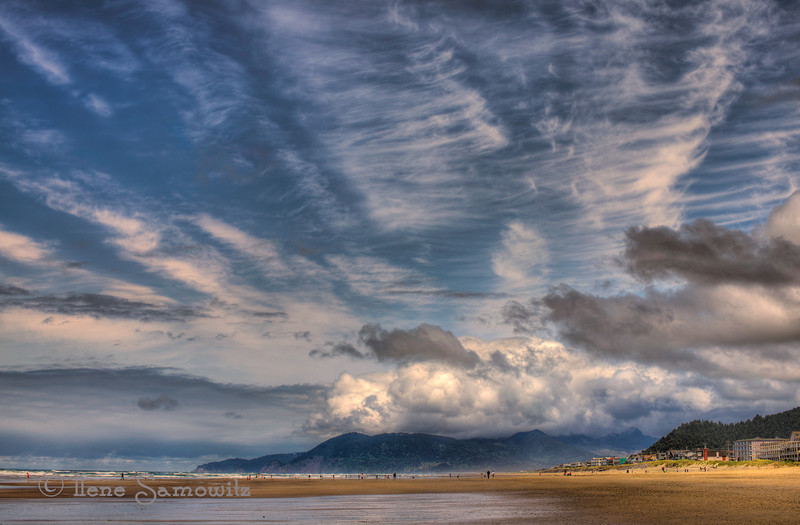 6-2-12 Rockaway Beach Clouds Looking North - thanks for all the wonderful comments on yesterday's image of the sky at Rockaway Beach, Oregon looking west.  It was a totally sky day at the ocean that morning.  This was shot with the legendary Nikon 50 1.2 AIS on a Nikon D800E.