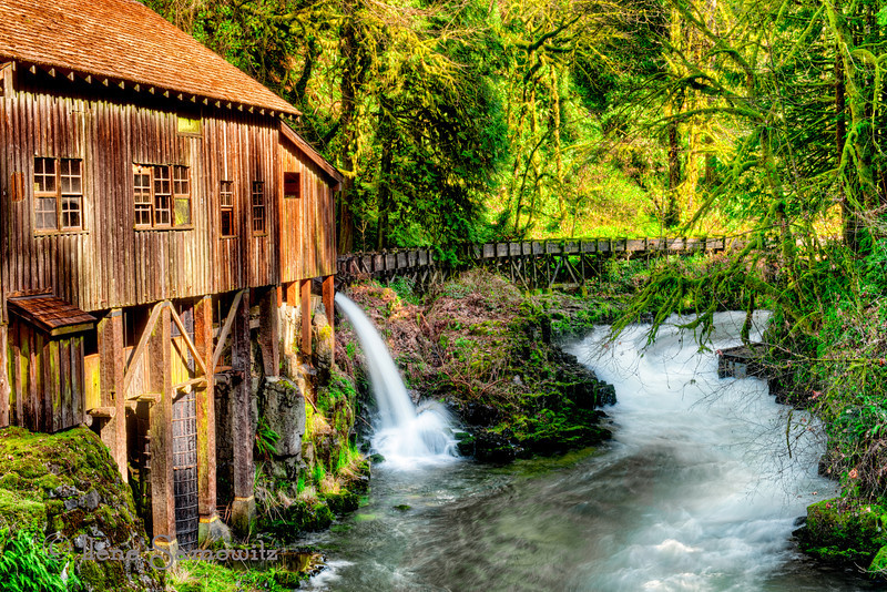 The Cedar Creek Grist Mill<br /> Woodland, Washington